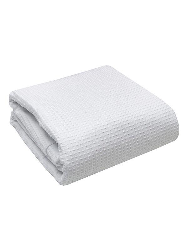 Κουβέρτα πικέ White