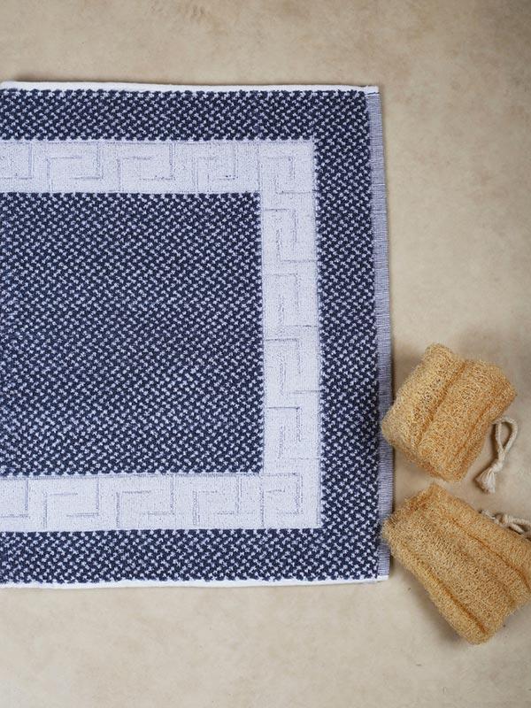 Πατάκι μαίανδρος Grey - White